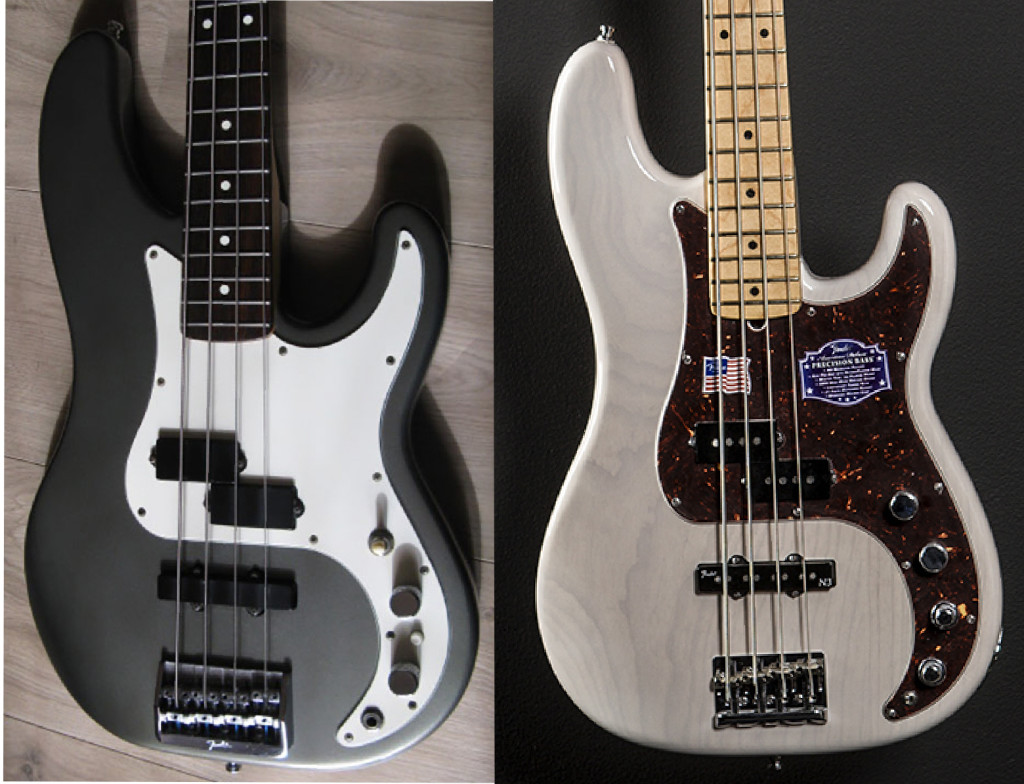 precision bass style pickguards click for price in any color pickguard planet. Black Bedroom Furniture Sets. Home Design Ideas