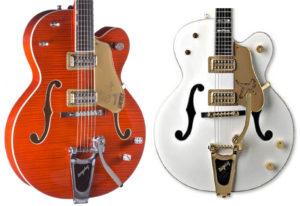 Pickguards for Gretsch Guitars & Basses | Pickguard Planet